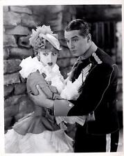 """Maurice Chevalier, Jeanette MacDonald """"The Merry Widow"""" 1934 Vintage Movie Still"""