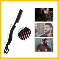Peigne Brosse Electrique Lisseur Barbe Fer a Lisser Cheveux pour Homme Coiffure