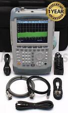 Rohde Amp Schwarz Fsh4 404 Handheld Spectrum Analyzer With Preamp Ramps Fsh 4