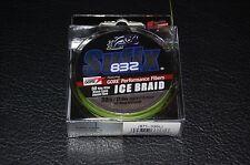 Sufix 832 Advanced Ice Braid Neon Lime 50yd 30lb Test Fishing Line 671-030L