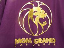 MGM CASINO LAS VEGAS 1993 T-SHIRT (XL) RAISED GOLD LETTERING-VERY RARE