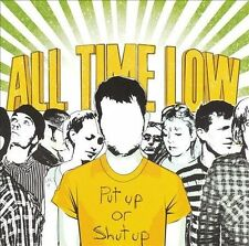 Put Up Or Shut Up [EP] by All Time Low (CD, Jul-2006, Hopeless Records)