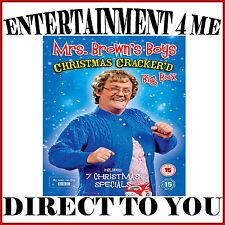 MRS BROWNS BOYS - CHRISTMAS CRACKER'D BIG BOX - 7 SPECIALS*BRAND NEW DVD BOXSET*