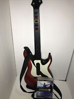PlayStation PS2 Guitar Hero Guitars with  Straps | Red Octane | Wired | Tested