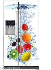 Sticker frigo américain déco cuisine Fruits 741 presta