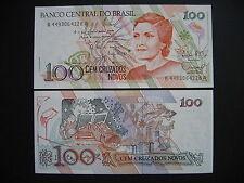 Brazil 100 cruzados novos 1989 (p220a) UNC