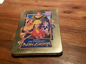 DISNEY'S THE EMPEROR'S NEW GROOVE STEELBOOK DVD. LIMITED SERIES.