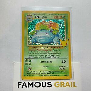 Venusaur - 15/102 - Rare Holo Card - Pokemon Celebrations MINT