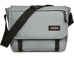 Eastpak Umhängetasche »Delegate+« Laptopfach Schultertasche Grau Sunday Grey NEU