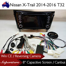 "8"" Car DVD GPS Stereo Head Unit Nav For Nissan X-Trail 2014-2016 T32"