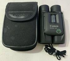 Canon Compact Binoculars 10x25A 5.2 Degree Collapsable Pocket Binoculars