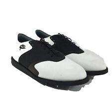 Vintage Men's Nike Air Classic Plus 2 Sz 10,5 Leather Golf Shoes Cleats