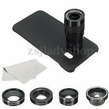4 in1 9x Zoom Telephoto Marco Camera Lens Case For Samsung Galaxy S7 Edge
