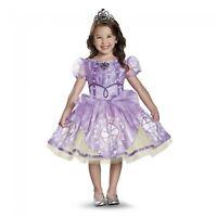 Girl's Disney Princess Rapunzel Halloween Costume Tutu Dress Headband XS Small