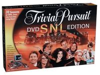 Vintage Trivial Pursuit Saturday Night Live DVD Edition Board Game NIB SEALED
