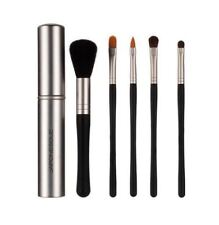 JAPONESQUE 5 pcs Touch Up Tube Brush Set in Silver Case