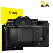 2-Pack Khaos For Fujifilm X-T4 X100V X-PRO3 Tempered Glass Screen Protector