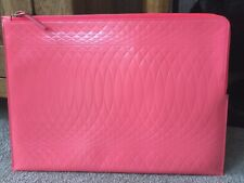 PAUL SMITH NO.9 COLLECTION iPAD DOCUMENT FOLIO CASE CORAL LEATHER RETAIL €675