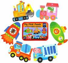 Jigsaw puzzles for kids 3 + 4 + 5 + 6 pieces 6 patterns Infant brain activation