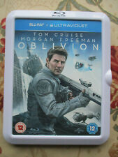 OBLIVION 2013 FILM STARRING TOM CRUISE BLU-RAY DISC SPECIAL WHITE CASE EDITION