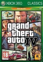 Xbox 360 GTA 4 Grand Theft Auto IV - Classics Excellent - 1st Class Delivery