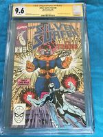 Silver Surfer #38 - Marvel - CGC SS 9.6 NM+ - Signed by Ron Lim - Thanos