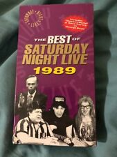 The Best of Saturday Night Live Sealed VHS 1989 Sealed Rare Oop George Bush