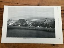 More details for  1896 print from racing illustrated - the view of portslade & horses on the back