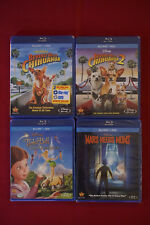 Large Blu-Ray Lot of 4 Beverly Hills Chihuahua Tinker Bell Fairy Rescue NEW