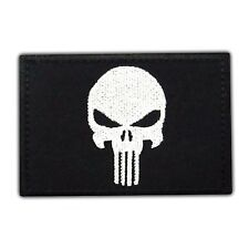 PUNISHER US Black Flag Seals Morale Tactical Army  Embroidered Iron On Hat Patch