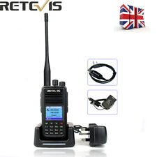 DMR Digital Retevis RT3S Walkie Talkie Dual Band Portable Two Way Radio 3000CH