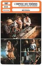 FICHE CINEMA : L'EMPRISE DES TENEBRES - Craven 1987 The Serpent and the Rainbow