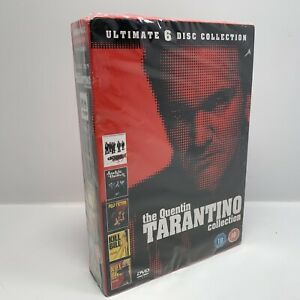 Quentin Tarantino Collection (DVD, 2011, 6-Disc Set) Brand New & Sealed