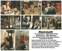 jeu de 8 Photos cinéma Originales du Film Hammett De Wim Wenders