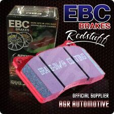 EBC REDSTUFF REAR PADS DP3680C FOR AUDI A4 1.9 TD 130 BHP 2001-2004