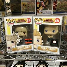 Funko Pop My Hero Academia : Himiko Toga #610 + Mirio Togata #611 Set of 2 Vinyl