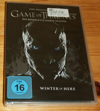 4 DVD - GAME of THRONES - Die 7 siebente Staffel - NEU in Folie - Kein Import