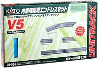 Kato 20-864 UNITRACK Variation Set V5 Inner Oval Track Set N scale New Japan