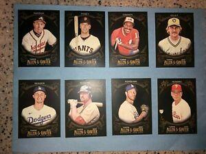 2021 TOPPS ALLEN & GINTER X BLACK BASE BASEBALL CARDS YOU CHOOSE 7-349 MLB CARD