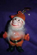 Vintage Bashful Christmas Ornament; Santa suit 7 dwarfs