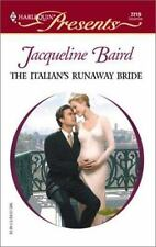 Italian'S Runaway Bride ( Baird, Jacqueline ) Used - VeryGood