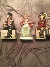 Lot Of 3 Waco Musical Hobo Clowns
