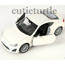 "4.5"" Welly Toyota GT 86 Left Hand Drive Diecast Toy Car 43669D White"