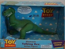 "Toy Story Movie Electronic Talking Rex T-Rex Dinosaur 15"" Figure Thinkway Toys"