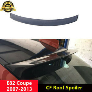 E82 Rear Roof Spoiler Carbon Fiber Wings for BMW 1Series E82 & 1M Coupe 2007-13