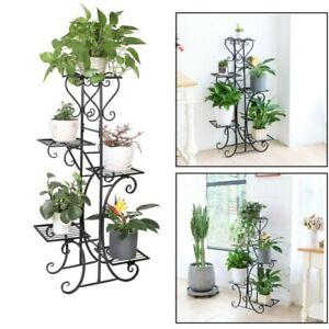 Pflanzentreppe Blumentreppe Blumenbank Pflanzregal Ständer Metall Mit 5 Stufen