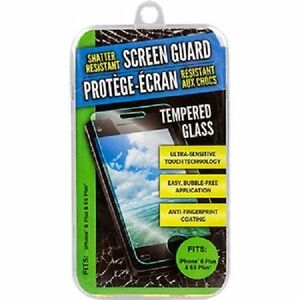 Shatter Resistant Tempered Glass Screen Protector for IPhone 6 Plus & 6S Plus US