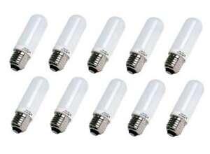 JDD Halogen Bulb Photo Studio E26/E27 Modeling Lamp 110V/220V 250W 150W 100W 75W
