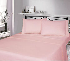 Linge de lit et ensembles roses contemporains en 100% coton
