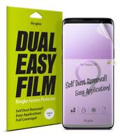 Samsung Galaxy S9/S9 Plus Screen Protector Ringke Dual Easy Full Cover Film 2PK